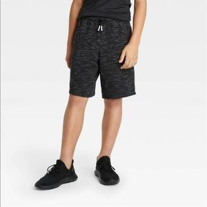 All In Motion Boys Black Shorts, size L